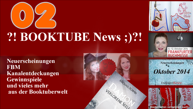 ?! BOOKTUBE News 02 ;)?! - Neues Cover, FBM, Kanalentdeckungen, Bärenbuch und mehr