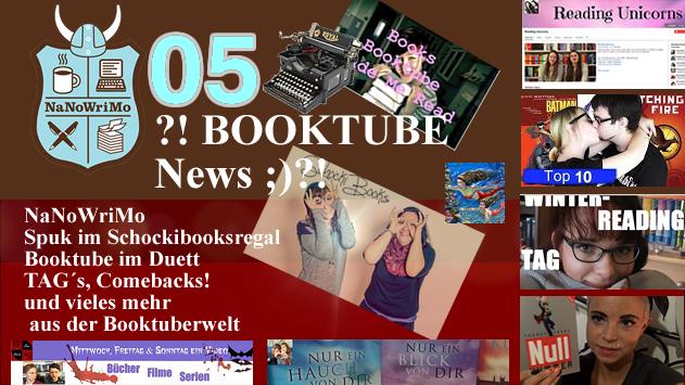 ?! BOOKTUBE News 05 ;)?! - Spuk im Schockibooksregal - Booktube-Duo´s - Buchschreiben