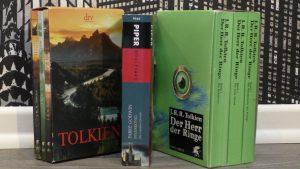 Bücher Neuzugänge Bücherflohmarkt 2016. Tolkien Fantasy Lord of Rings
